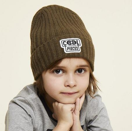 Beanie groen - Cool Pieces - littlefashionaddict.com