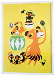 littlephant poster graphic print bongo party