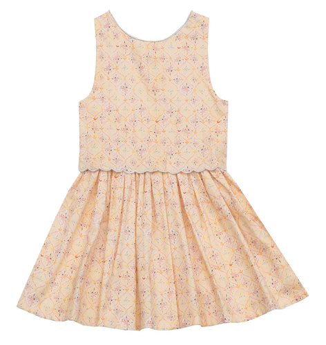 Little Fashion Addict - Ceci-Kids - Cézanne dress voorkant