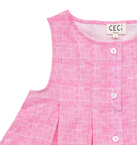 Little Fashion Addict - Ceci Kids - Coco Dress - Detail