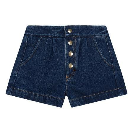 Denim Shorts - littlefashionaddict.com