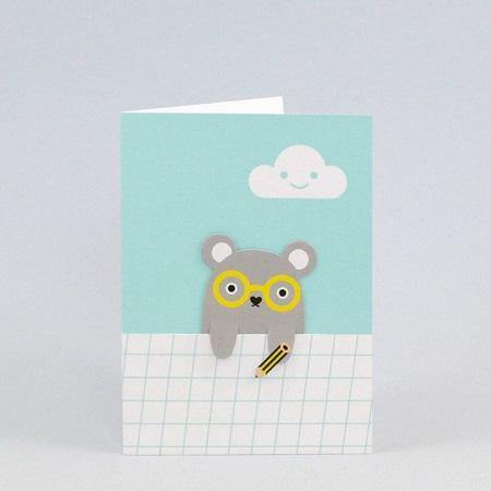 Noodoll bookmark cards are the perfect way to say hello, happy birthday or good luck! Each bookmark card features a removable paper bookmark; perfect for when you want to give a card with a little something extra!