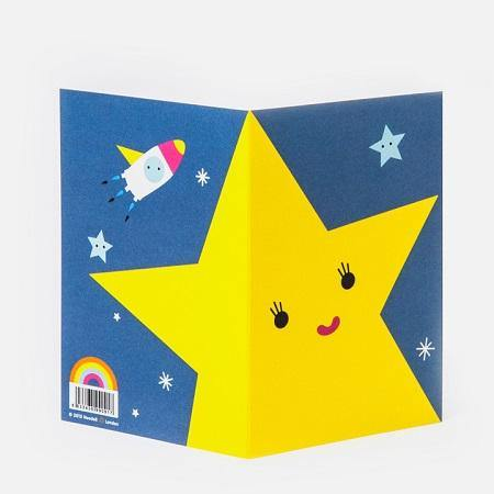 Noodoll greeting cards are bold, cheerful, colourful and are great for every age! This card is the perfect way to say hello, happy birthday or good luck to your favourite monter!  Each Noodoll greeting cards comes with a matching colourful envelope!