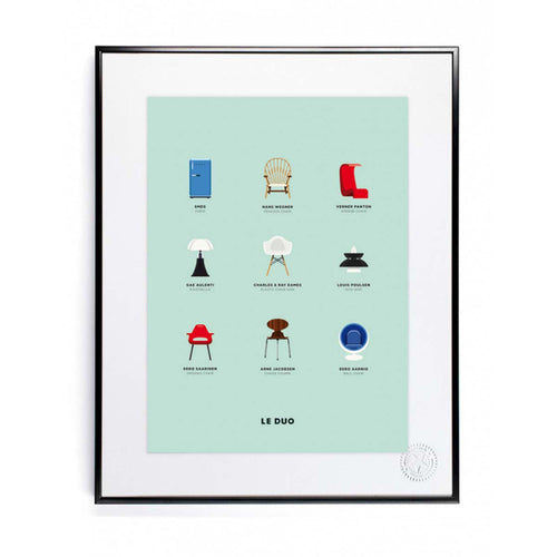 Poster - le duo design - littlefashionaddict.com