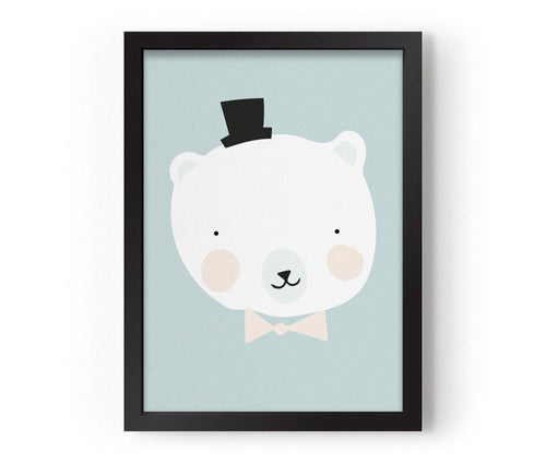 Poster - Mr polar - littlefashionaddict.com