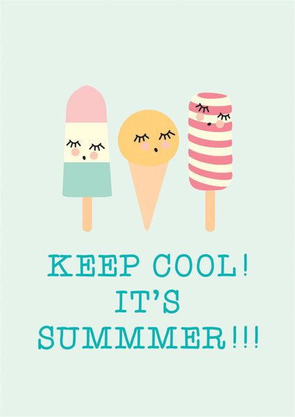zPoster - keep cool - littlefashionaddict.com
