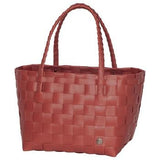 Gerecycleerde Paris Shopper - Rusty Red - littlefashionaddict.com
