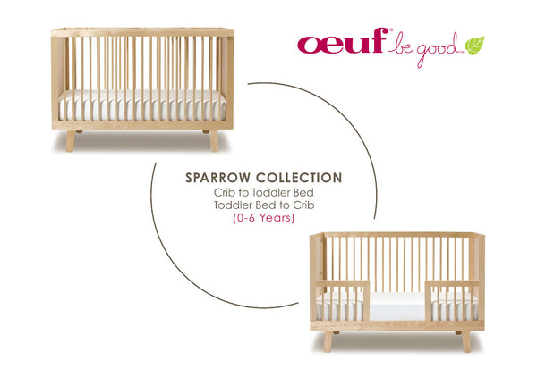 sparrow babybed berken conversion kit