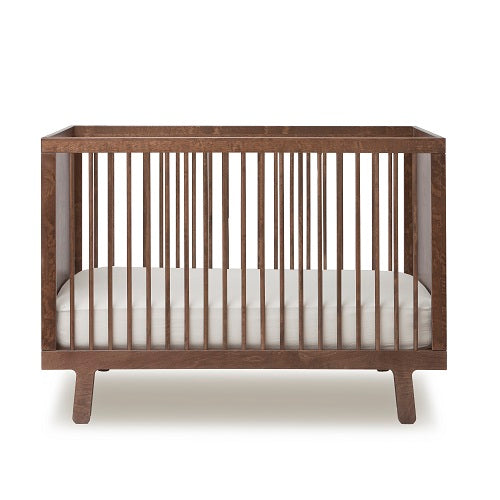 SPARROW Babybed walnoot