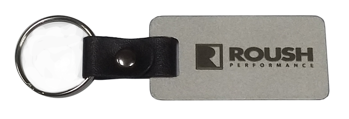 ROUSH Zinc Strap Key Tag