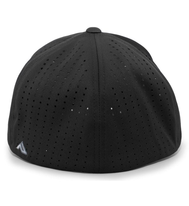 ROUSH Black Performance Flexfit Hat with Patch - LG/XL
