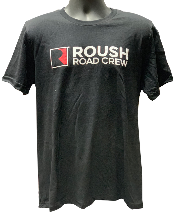 Roush Road Crew T-Shirt - Black