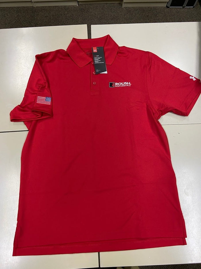Under Armour Red Polo