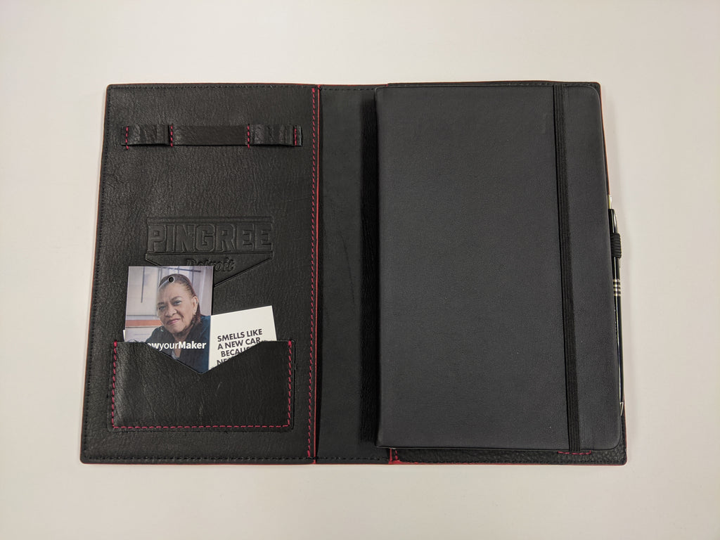 ROUSH Pingree Moleskine Work Folio by Pingree Detroit