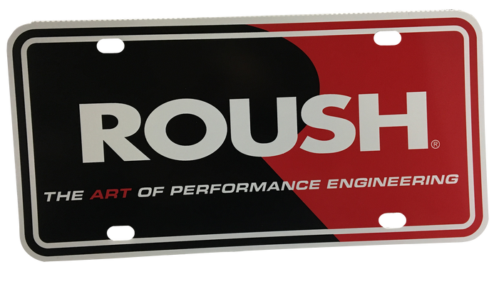 ROUSH Auto Display Plate