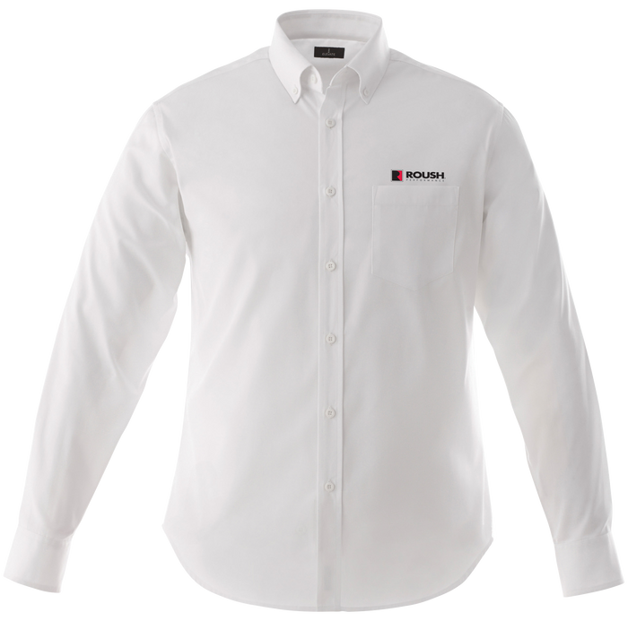 Roush Easy Care White Long Sleeve Shirt