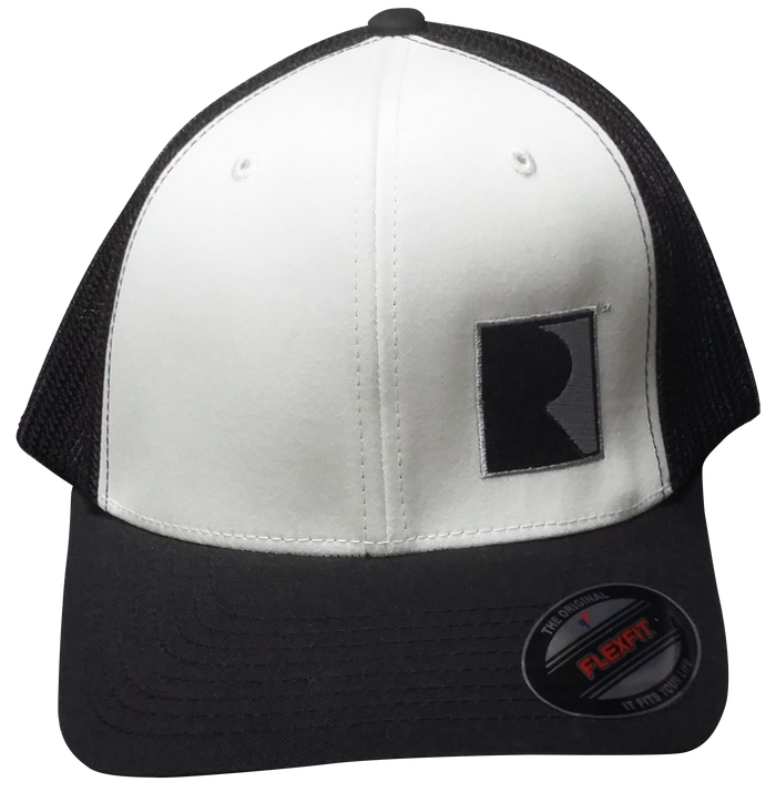 White/Black Flexfit ROUSH Performance Hat