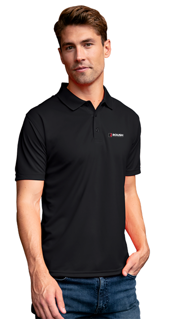 Roush Performance Solid Mesh Tech Polo