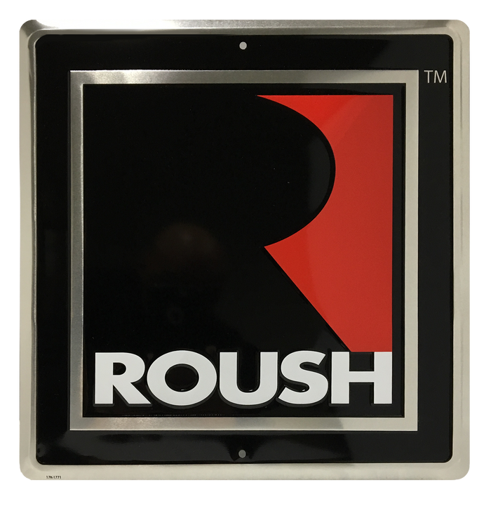 ROUSH Square R Sign