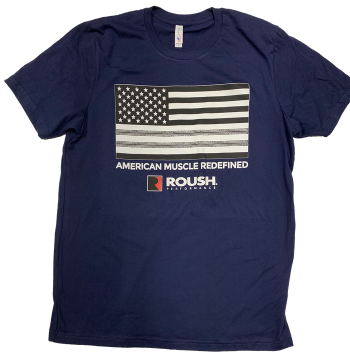 American Muscle Redefined Navy T-Shirt