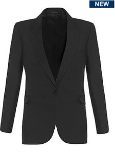 Girls Black Signature Fitted Blazer