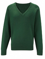 Bottle V Neck Jumper