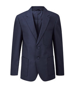 Boys Navy Long Fit Viscount Blazer