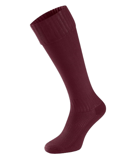 Football/ Hockey Socks- Maroon