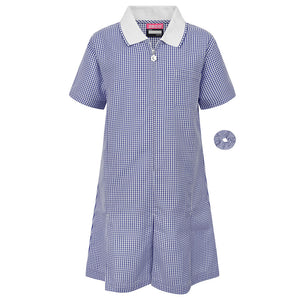 Summer Dress -Navy/White