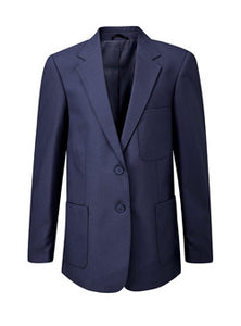 Girls Navy Ziggy Blazer
