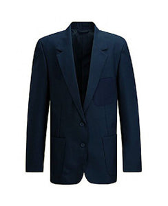 Girls Navy  Viscount Blazer