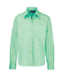 Green Long-sleeved Blouse (Twin Pack)