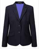 Girls Navy ELITE Fitted Blazer