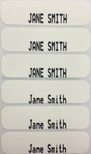 Iron-On Name Tapes