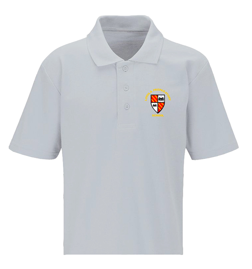 Loyola White Polo Shirt