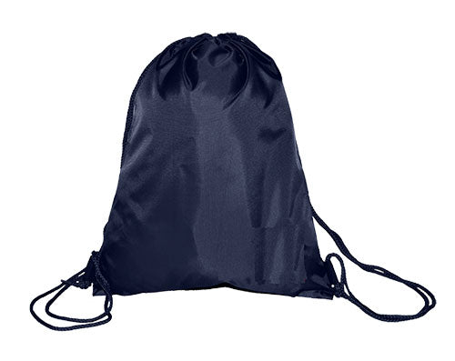 Navy Nylon Large P.E Bag