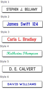 Sew-In Name Tapes