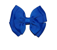 Royal Bow on Clip