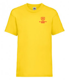 St Antony's Yellow  P.E.  T-Shirt