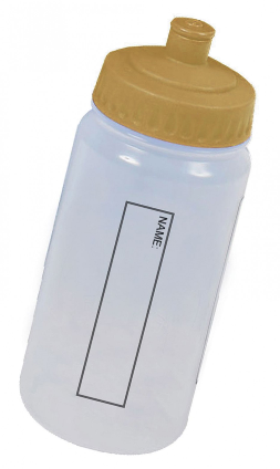 Water Bottle - Gold
