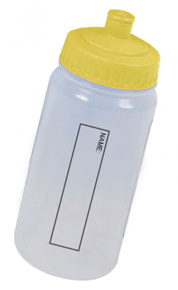 Water Bottle - Yellow