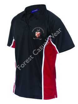 West Hatch Boys Panelled Polo Shirt