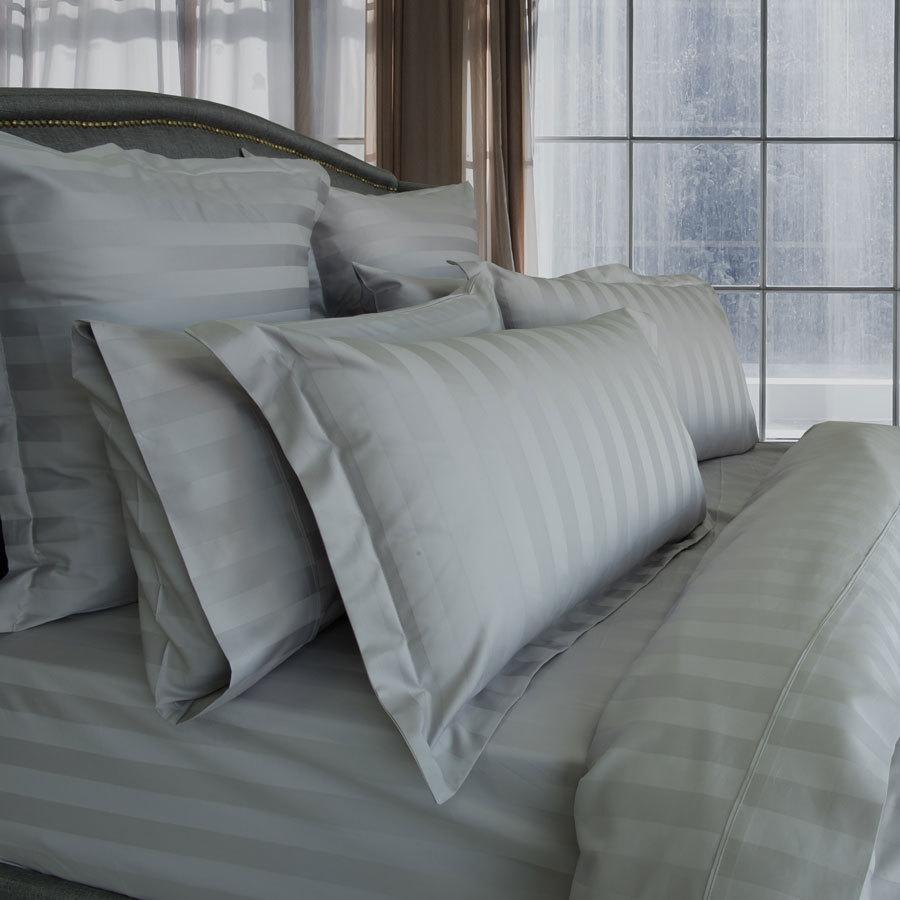 1200TC Silver cotton quilt cover set