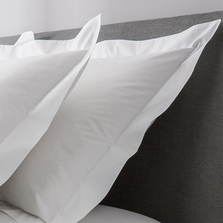 Tailored Finish European Pillowcase, 400TC 100% cotton, sateen finish