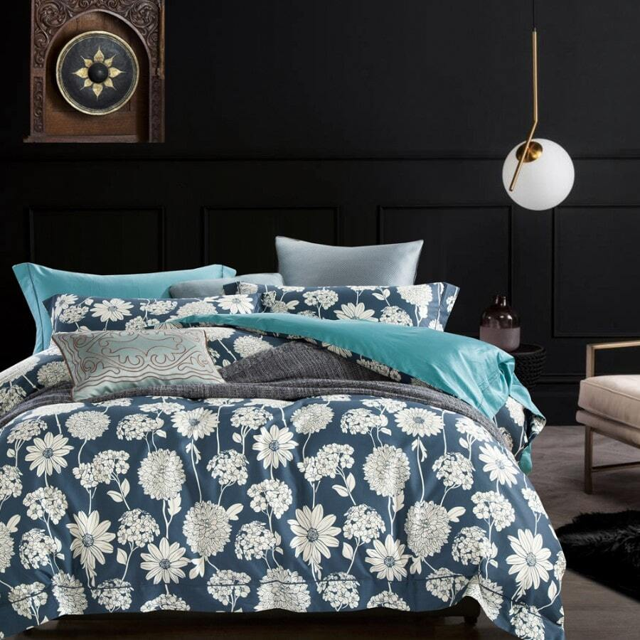 BOSTON Steel Quilt Cover Set