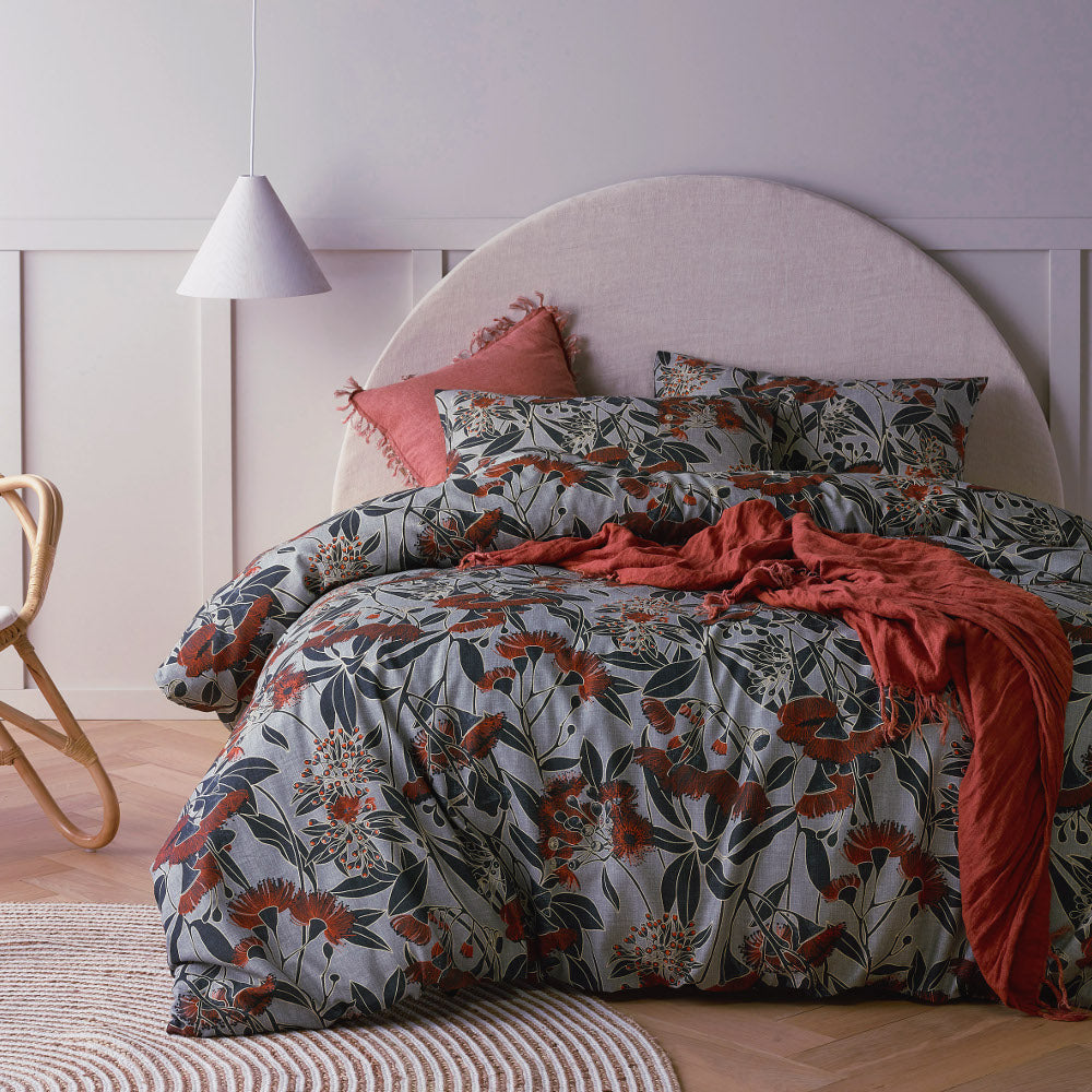 Banksia Linen Cotton Quilt Cover Set