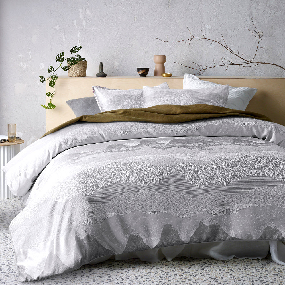 Bulla Silver Quilt Cover Set