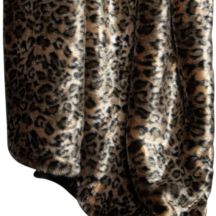 Fuax Fur Throw - Cheetah