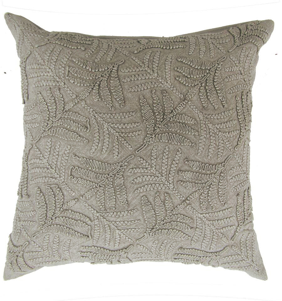 Chad Vintage Cushion Cover - Linen / Beige