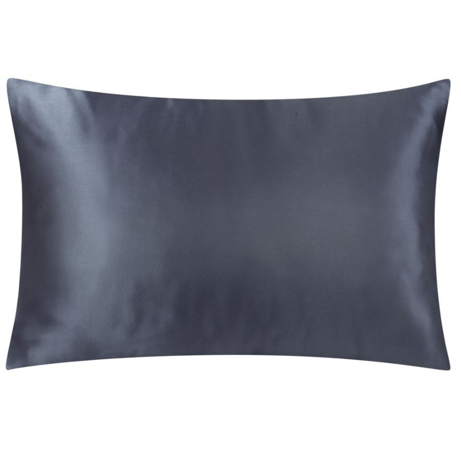 satin pillowcases charcoal grey